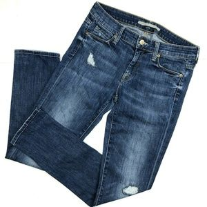 Vince Distressed Skinny Jeans